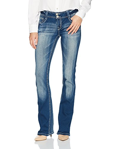 junior s instastretch luscious curvy bootcut jeans