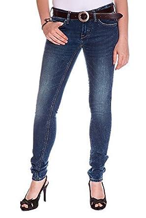 b5dba68b7ef1 Mustang Damen Skinny Jeans Gina (W25 L32, Blau (Jeggins 526))  Amazon.de   Bekleidung