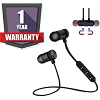 DRUMROAR Wireless Bluetooth Headphone|Magnet Earphone for Sport, Running,Gyming with 4.1 Technology with Mic Compatible with Android Phone and iOS