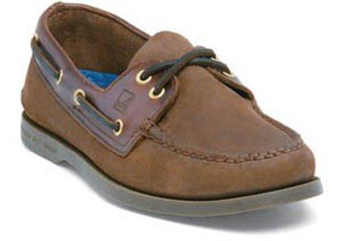 Sperry Men's A/O 2 Eye Boat Shoe,Brown/Buck Brown,9 W US