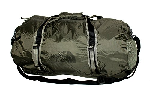 The North Face Unisex Basic Zip FLYWEIGHT DUFFEL L (New taupe ()