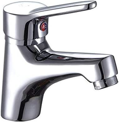 YYG-YYG フェイス流域の蛇口コールドとホット洗面洗面トイレ単穴の蛇口、E Section_2507Modernシンプルな高級品質保証ホームデコレーション 蛇口