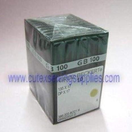 100 Groz-Beckert 135X17 DPX17 SY3355 Industrial Walking Foot Machine Needles Size 160 // 23