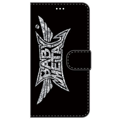 BABYMETAL Wallet Case For iPhone 6 / 6s Black / Glittering Silver 009
