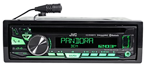 Package: JVC KD-R860BT Car Stereo Receiver With AM/FM, CD ... on