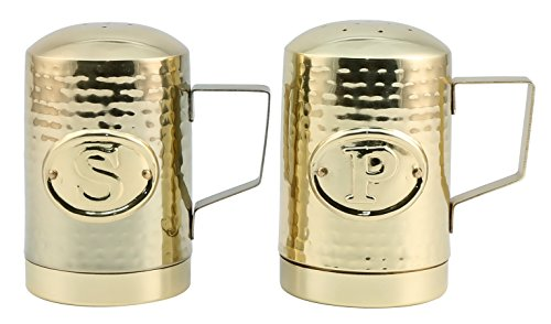 Thirstystone N900 Salt & Pepper Shakers, One Size, - Gold Salt Shaker