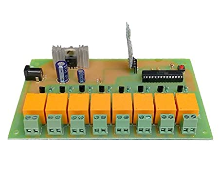 vikitechautomation Bluetooth 8-Channel Relay Control Board for Fan and Light