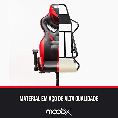 Cadeira Gamer Moobx Fire Vermelho
