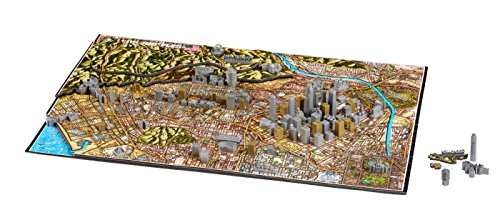 4D Cityscape Los Angeles Time Puzzle (800 Piece) ()