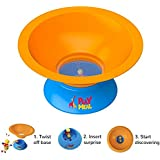 PlayMeal Kid's Adventure Food Bowl, Stops Mealtime Fuss and Motivates Healthy Eating Habits for Kids, Includes 3 Surprise Toys
