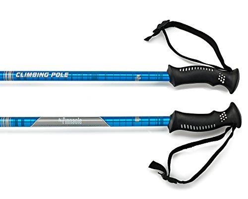 Pinnacle Hiking Poles – Best Trekking Hiking Nordic Trail Walking Telescoping Collapsible Ultra Light weight Pair Trek Sticks Walking Anti shock Poles for Men Women