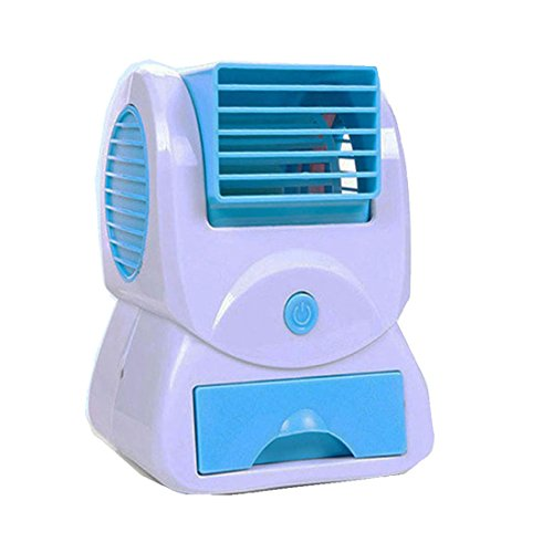 USB Electric Air Conditioning Mini Fan Air cooler (Pink) - 6