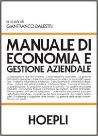 9788820334239 manuale di economia e gestione aziendale g.
