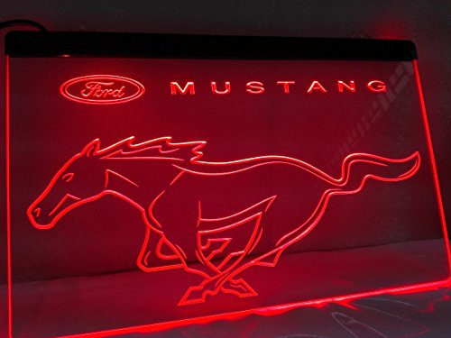 Ford Mustang LED Neon Sign Light Muscle Car (Ford Signs Neon)