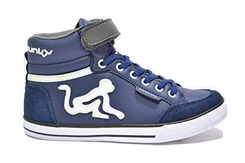 DrunknMunky , Jungen Sneaker blau blau