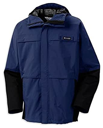 Columbia Mens Long Run Jacket (COUSTEAU, L)