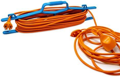 Couleur Electraline 94018 Bleue 94018-Support Portable pour rallonge de Bobine et c/âbles