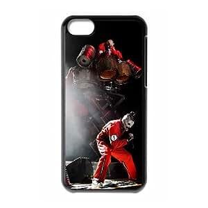 Slipknot iPhone 5c Cell Phone Case Black xlb-256962
