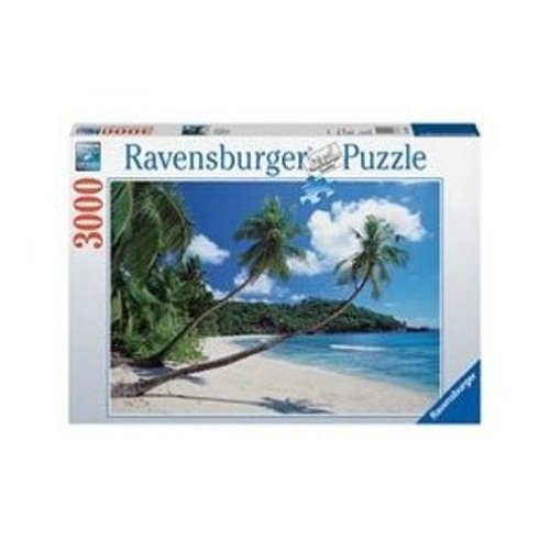 Ravensburger 17045 - Strand unter Palmen - 3000 Teile Puzzle