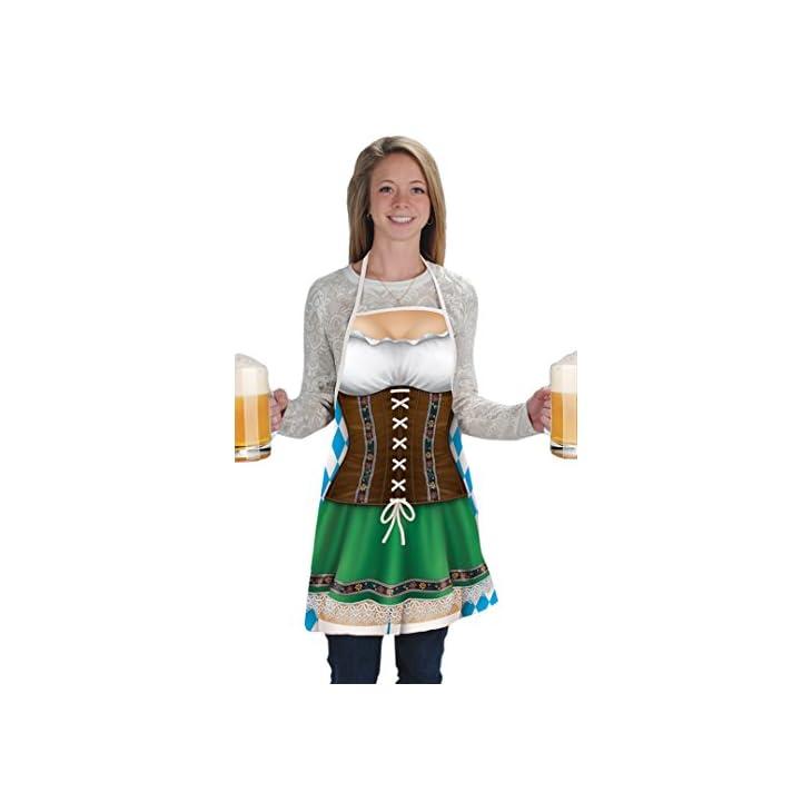 Beistle Women's 54625 Fraulein Fabric Novelty Apron