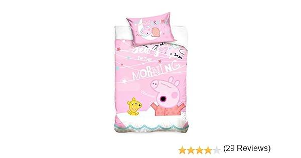 Carbotex Peppa Pig - Baby Ropa de Cama, 100x135 cm, Rosa: Amazon ...