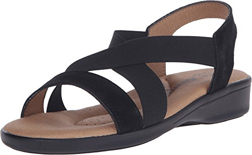 Arcopedico New Women's Montery Sandal Black Suede 37