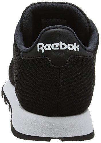 Blanc Leather Hommes Pour Ultk Noir Cl Reebok 000 noir Baskets Sxwq8U4