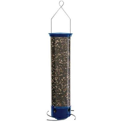 (Droll Yankees YCPW-180-M Yankee Whipper Bird Feeder, Blue)
