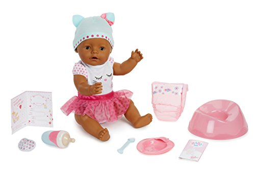 (Baby Born Interactive Doll - Dark Brown Eyes)