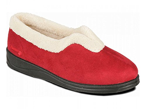 Femme Chaussons Padders Chaussons Padders Pour Rouge Padders Femme Chaussons Rouge Pour E7zqTw