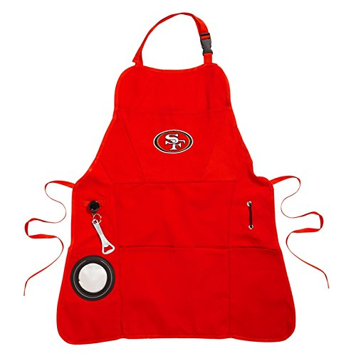 Ashley Gifts Customizable Embroidered Apron, Mens, San Francisco 49ers