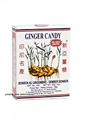 Ginger Candy (Ting Ting Jahe) - 2oz (Pack of 6)