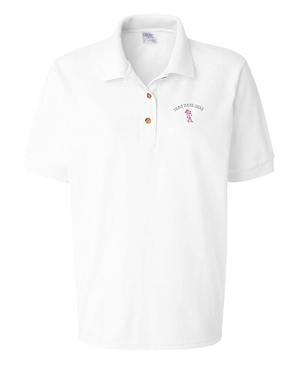7a39edc07 Embroidered Womens Polo Shirts - DREAMWORKS