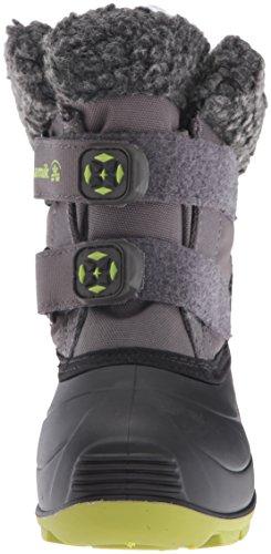 Kamik Kids Clover Snow Boot Charcoal