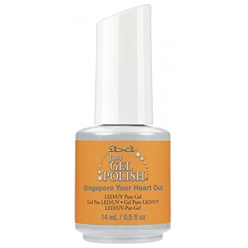 IBD Just Gel Nail Polish, Singapore Your Heart Out, 0.5 Fluid Ounce