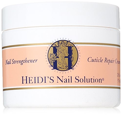 HEIDI'S Nail Strengthener and Cuticle Repair Creme, 2 Ounce by HEIDI'S