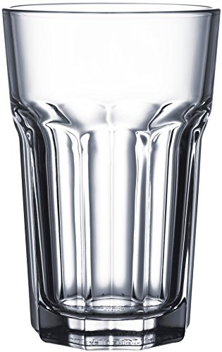 Circleware 44525 Rockford Huge Glassware Products  16 Oz  Clear