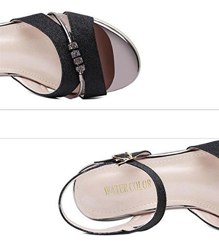 Muoti Korean Roman Koko Versio Tasainen Villi Korokekenkien Sandaalit Kesällä 38 B Sandaalit Korkokenkiä Naispuolinen väri nUqwpvpT