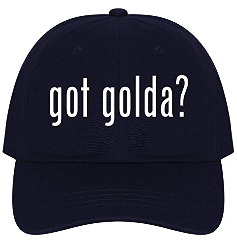 The Town Butler got Golda? - A Nice Comfortable Adjustable Dad Hat Cap, Navy