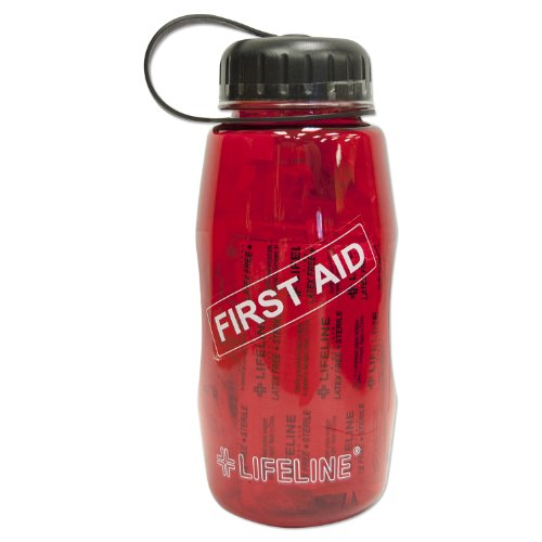 Lifeline Water Bottles (Lifeline First Aid In A Bottle (Red))