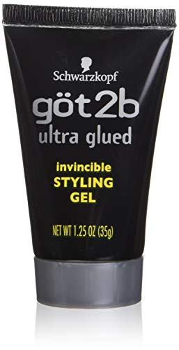 Got 2b Ultra Glued Invincible Styling Gel, 1.25 Ounce (Hair Braided To The Side With Weave)
