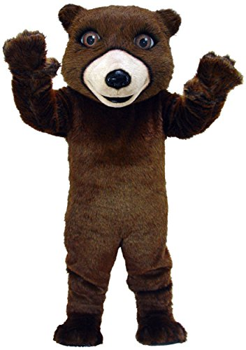 Friendly Grizzly Lightweight Mascot Costume