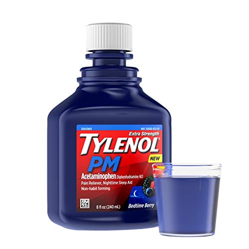 Tylenol PM Extra Strength Liquid Diphenhydramine HCI/Acetami