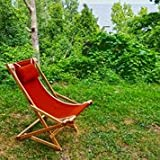 Easy Back Deck Rocker (Red)
