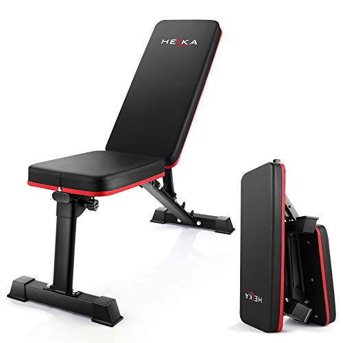 Adjustable Weight Bench Exercise Bench,Foldable Workout Bench Equipment for Home Gym Workouts,Multi-Purpose Strength…