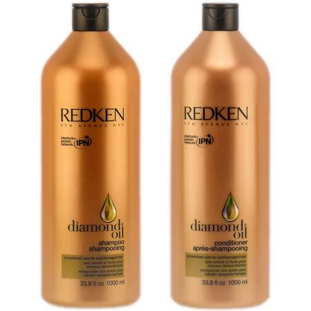 Redken Diamond Oil High Shine Shampoo & Conditioner 33.8 Oz (Diamonds Oil)