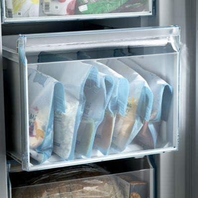 paquete de 8 Russbe Bolsas reutilizables para congelador