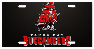 (Tampa Bay Buccaneers - The Run v10 Vanity License Plate )