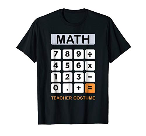 Calculator Costume Halloween Gift Idea For Math Teacher]()
