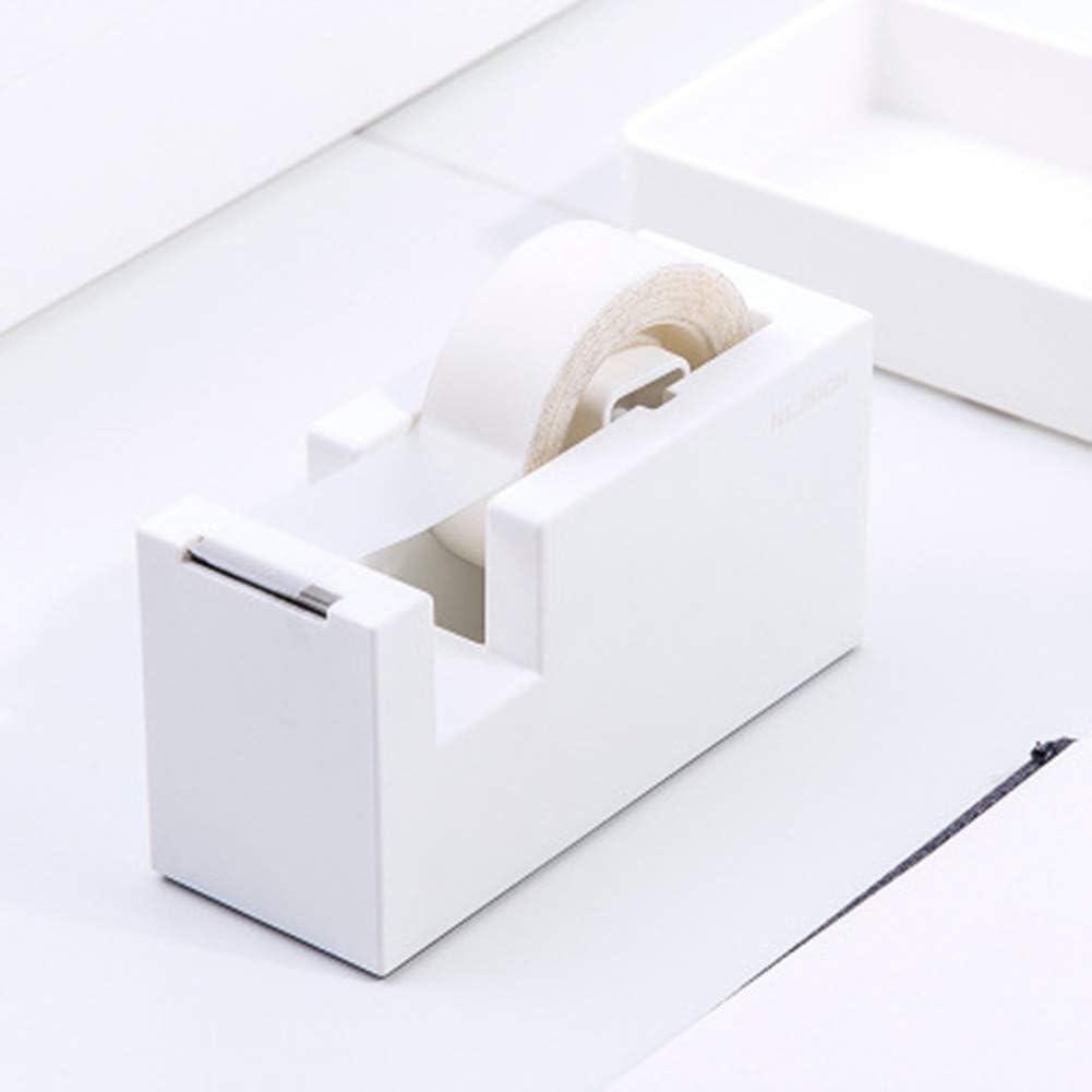 Purple Home or School Desk Accessory Shuda Tape Dispenser Butt Station Office Supply Station for Office